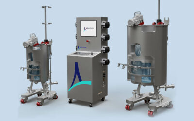 New Controllers for Single-Use Bioreactors Up to 2000 L