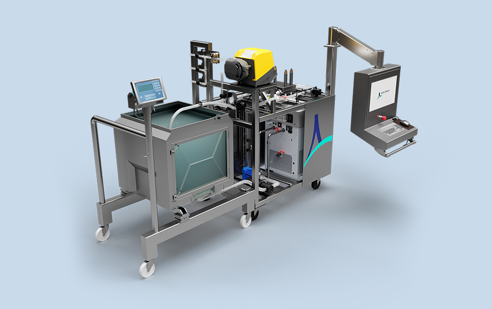 Siingle-Use TFF System for Production Manufacturing