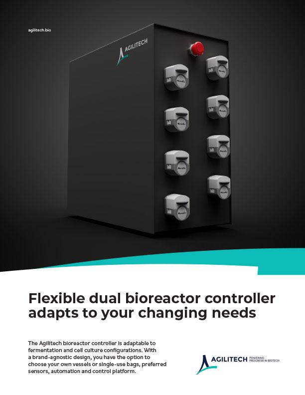 Agilitech Dual Bioreactor Controller Flyer